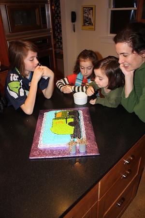 Sylvia's Third Birthday