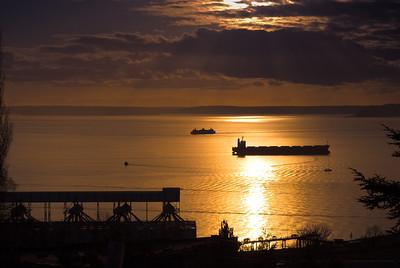 Seattle Sunset (1/31/09)
