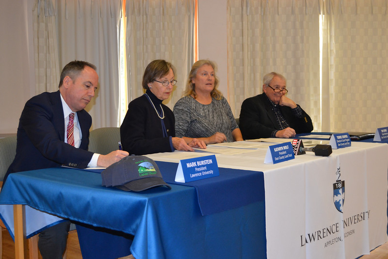 Bjorklunden Land Trust Signing 11.16