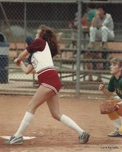 1983 Summer Baseball League - Carla