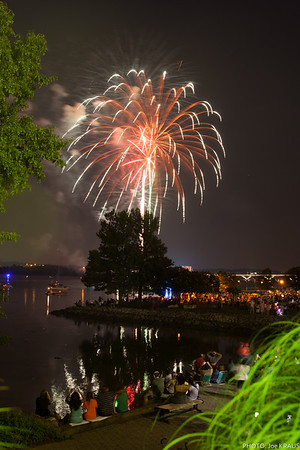 2015 Fireworks Alexandria