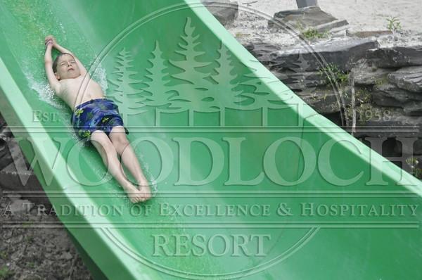 July 18 - Waterslide