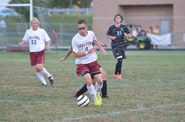 WMHS vs WMH Soccer 2013