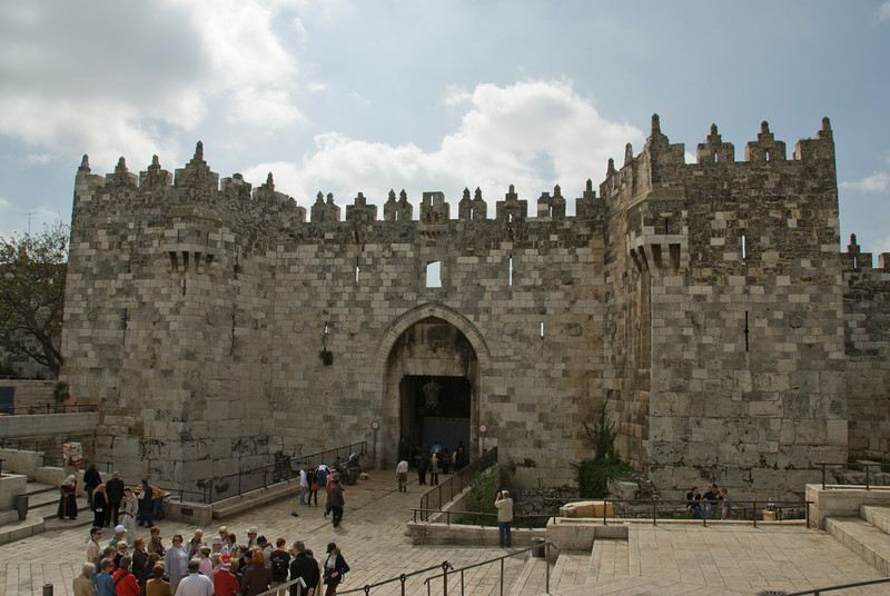 Entrance to the Temple Mount in Jerusalem, Israel