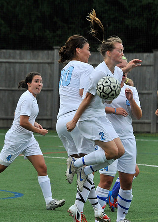 LASELL WOMEN'S SOCCER  SELECTED IMAGES  9.2.2012