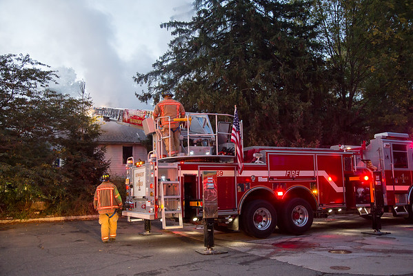 Closter NJ 2nd alarm, 496 Closter Dock Rd. 10-10-15