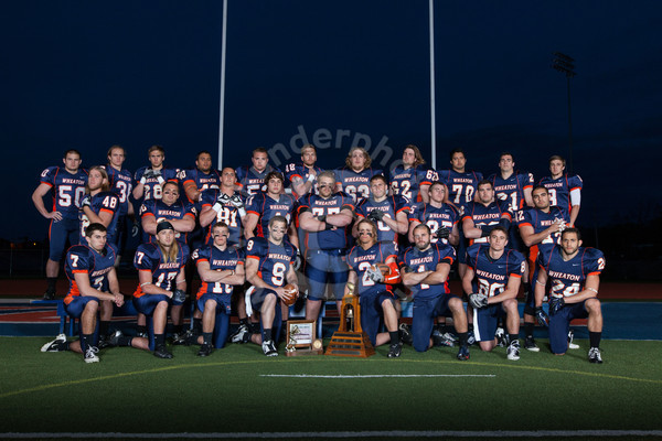 Wheaton College Football Senior Poster