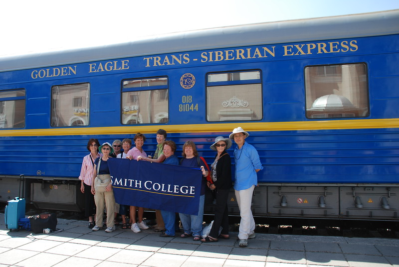 Group photo of Smith College (Princeton's co-sponsors on the journey)  - Richard Lim
