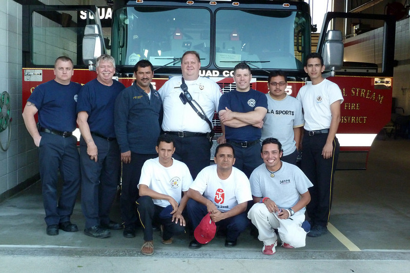 C.S.F.D. Squad 235 and Guatemala Firefighters.jpg