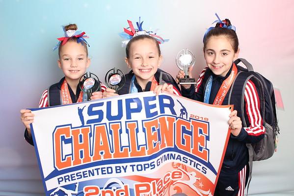 Tops Gymnastics Super Challenge 1/26/19