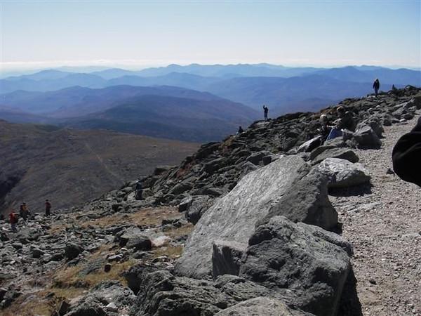 Mont Washington  (25 au 27 septembre 2009)