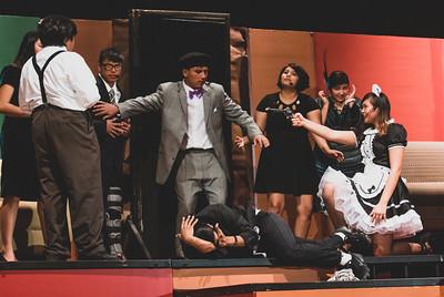 MHS Drama Club - Clue on Stage