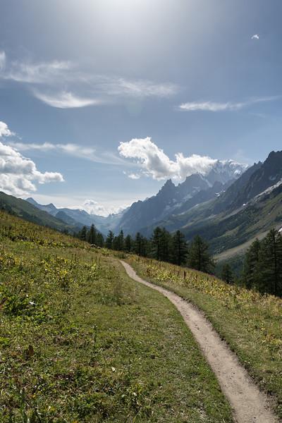 Val Ferret - Courmayeur, Aosta, Italy - August 8, 2016