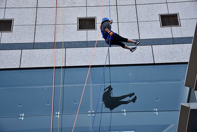 Vanessa Repelling To End Homelessness-9/8/17