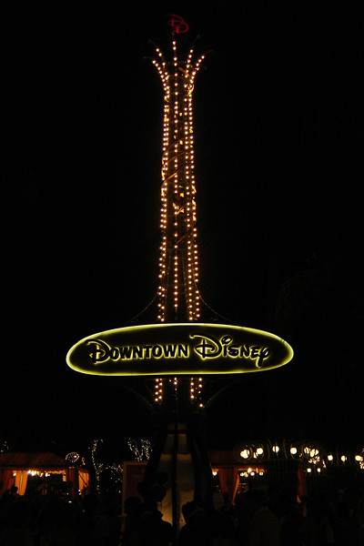 We conclude our evening at Downtown Disney