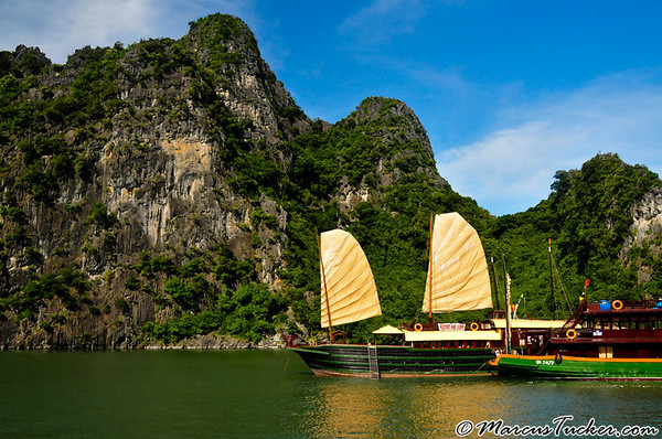August 2008 - Vietnam - Halong Bay