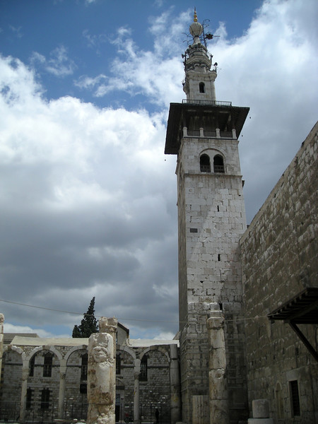 the Umayyad Mosque, old city of Damascus