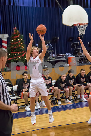 12/21/19 Varsity Boys Basketball vs Waterloo