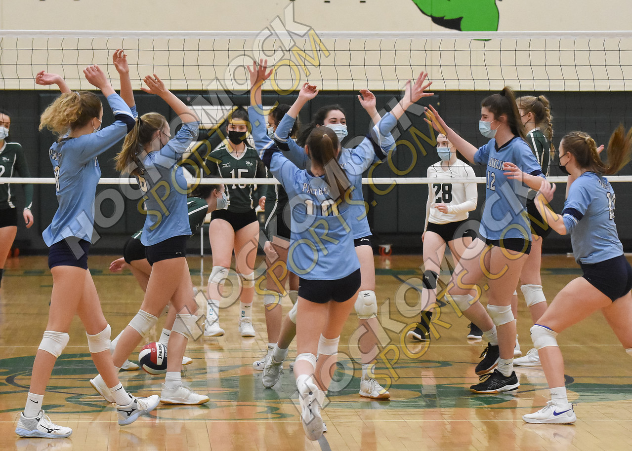 FHS volleyball team tops Mansfield 3-0 in first of two matches this week (HockomockSports.com photo)
