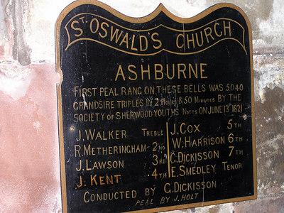 St Oswald Church, Ashbourne, 2006
