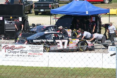 NASCAR K&N Pro Series  @ Lee USA 7-30-2010