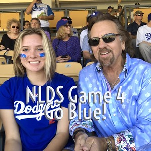 Dodgers NLDS Game 4 With Kat