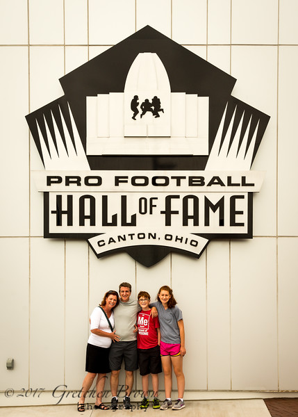 NFL Hall Of Fame in Canton OH.
