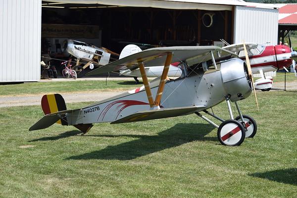 Goldan Age Air Museum July 2018