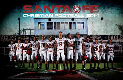 SFC 2014 Football Poster