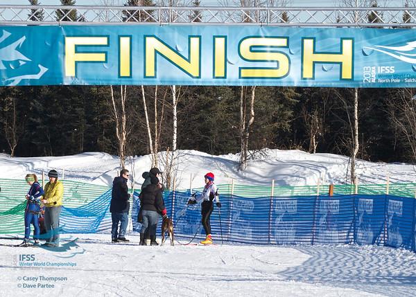 IFSS Women's 1-dog skijor