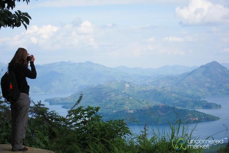 Photographing the Twin Lakes - Musanze, Rwanda