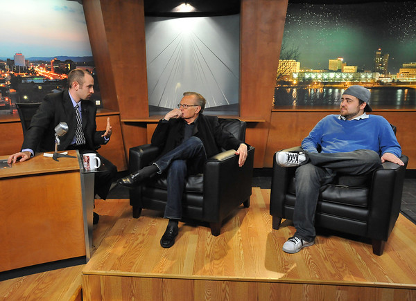 03.01.2012- Larry King on Up Late