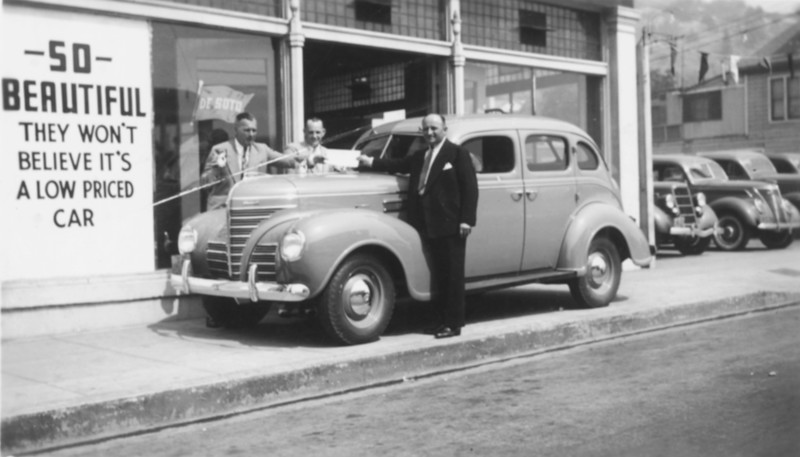 1940s, Selling Used Cars