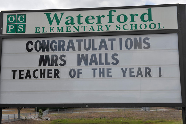 Teacher Of The Year Award Ceremony