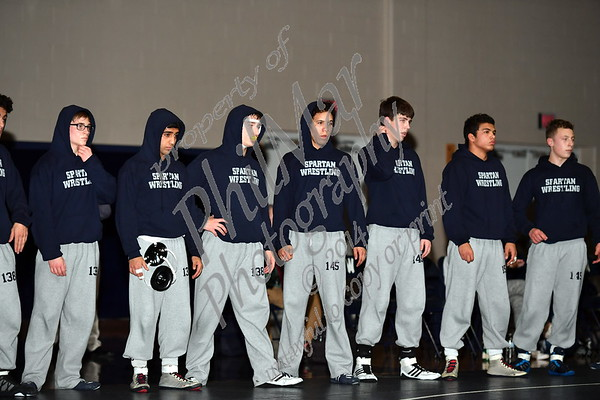 Wyomissing vs Hamburg High School Wrestling 2016 - 2017