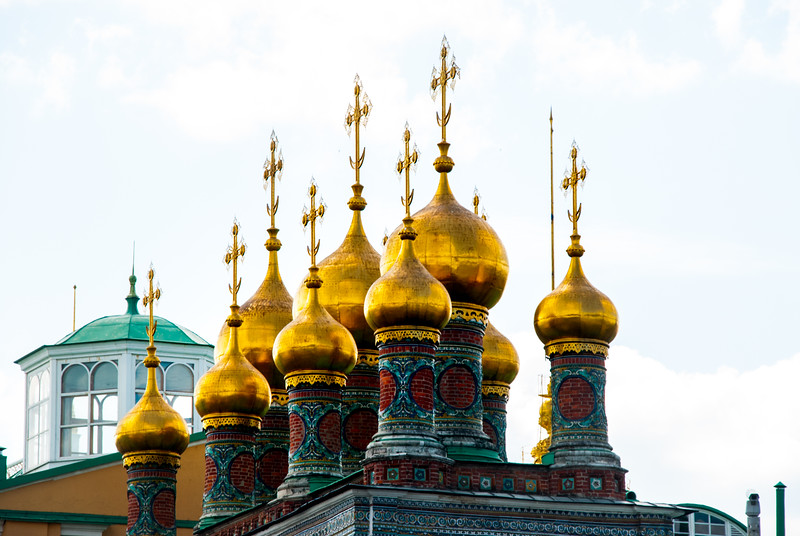 The Church of the Nativity, Kremlin, Moscow, Russia