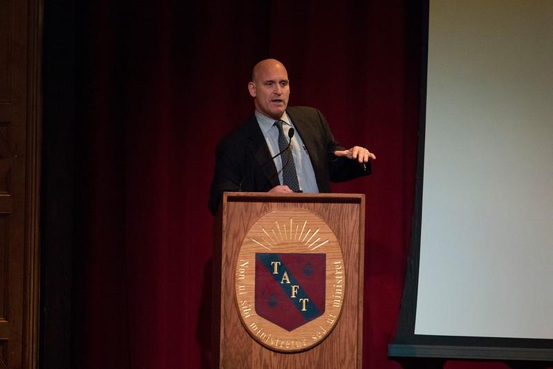 Todd J. Albert, MD speaks during Morning Meeting