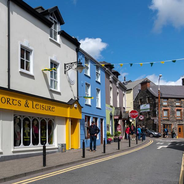 Street scene, Dingle, County Kerry, Republic of Ireland