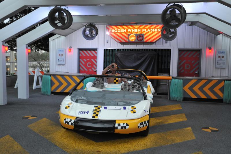 Test Track Car