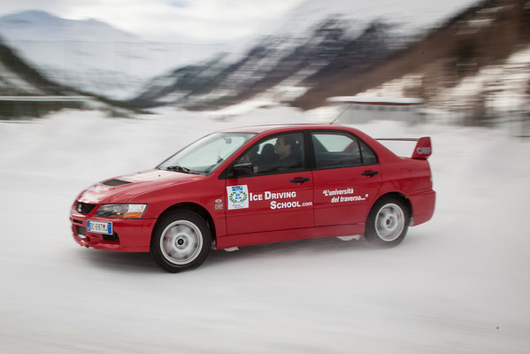 Ice Driving Livigno Ronnie