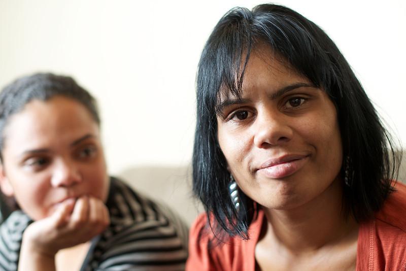 Two Indigenous Australian Women