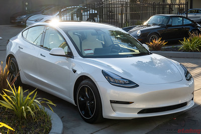 Tesla Model 3 - Full STEK DYNOShield PPF and CQFR Coating