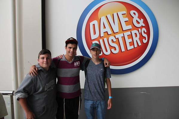 Senior's trip to Dave n' Busters