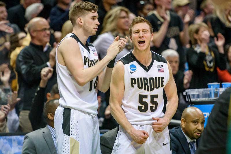3/16/17 NCAA Tournament, Vermont, Ryan Cline, Spike Albrecht