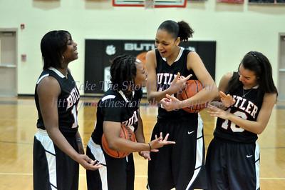 2011-01-21 BHS Women's Basketball VS Myers Park