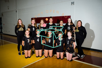 8th Grade Gold Volleyball 2020