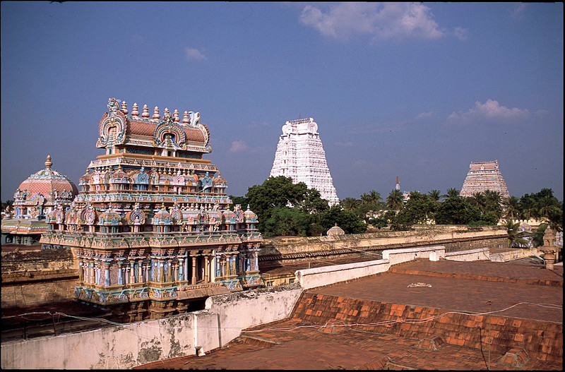 Temple complex of Madurai