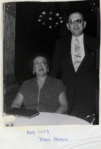1953 05 Al and Bertha's Europe Trip