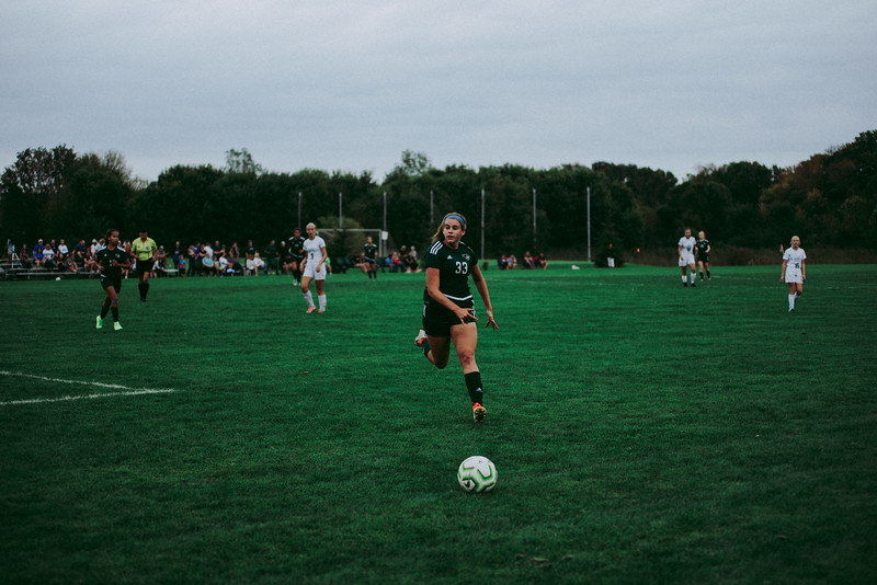 Holy Family Girls Varsity Soccer vs. Glencoe-Silver Lake, 9/24/19: Noelle Trombley '21 (33)