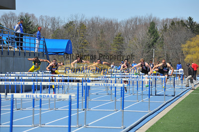 Men's Hurdles - 2014 Gina Relays
